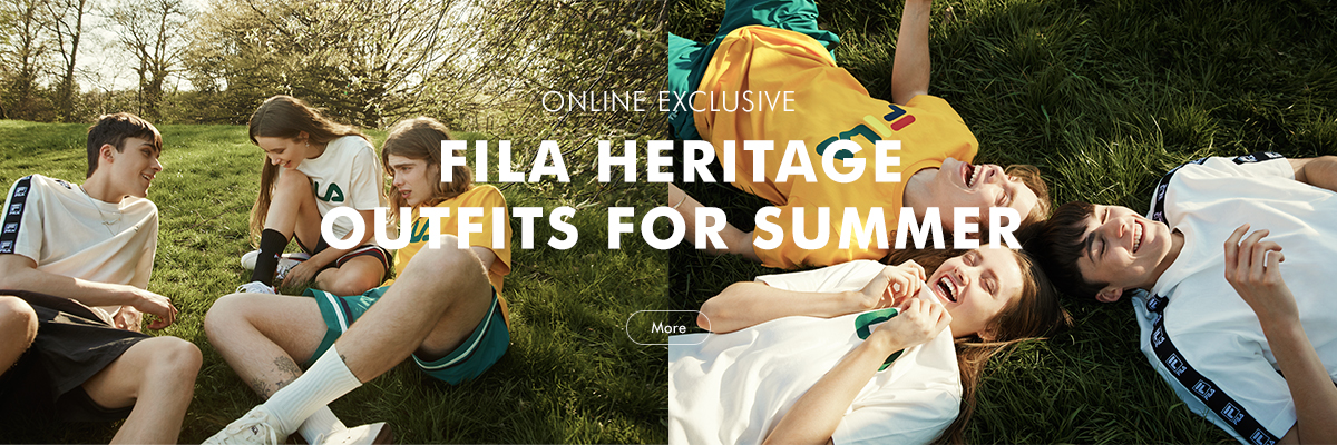 FILA HERITAGE OUTFITS FOR SUMMER