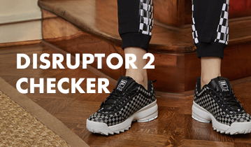 DISRUPTOR 2 CHECKER With CHECK PATTERN