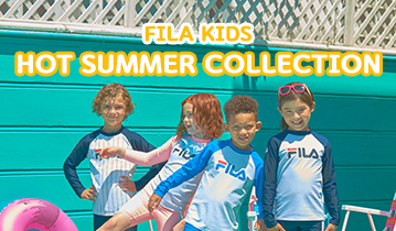 2018 FILA KIDS HOT SUMMER COLLECTION