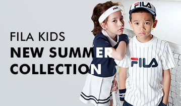FILA KIDS 18SS NEW SUMMER COLLECTION