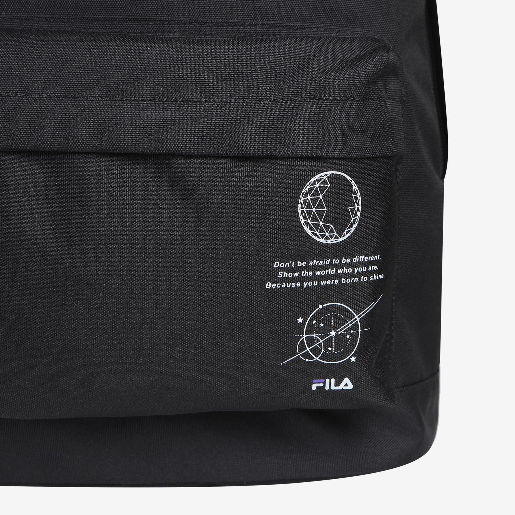 휠라(FILA) [보이저컬렉션] 데일리 백팩(FS3BPC5B01XBLK)