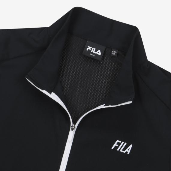 휠라(FILA) 레귤러핏 FILA 냉감스트레치 트랙탑(FS2FTB2252FBLK)