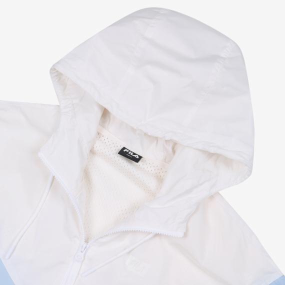 휠라(FILA) 레귤러핏 여성 상하 배색형 자켓(FS2JKB1251FLBU)