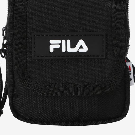 휠라(FILA) 리니어로고 랜야드파우치(FS3WLB6357XBLK)