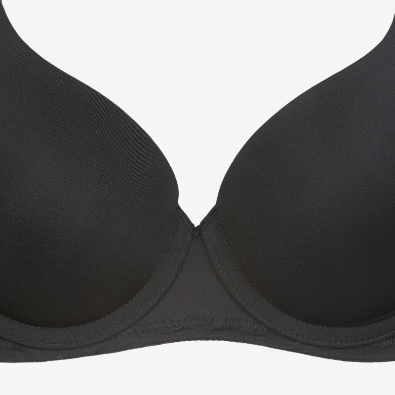 휠라언더웨어(FILA UNDERWEAR) 아웃핏 블랙밴드 여성 브라 블랙(FI4BAC6445FBLK)