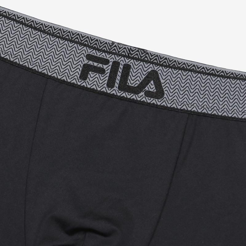 휠라언더웨어(FILA UNDERWEAR) 에센셜 남성 드로즈 블랙(FI4DRC1607MBLK)