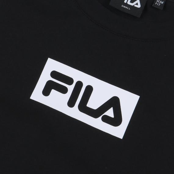 휠라(FILA) 슬림핏모던 FILA 크롭탑(FS2ITB1154FBLK)