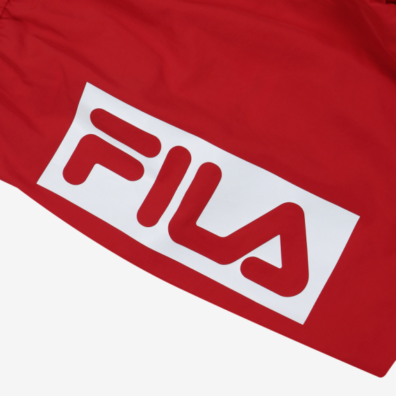 휠라(FILA) [레귤러핏] 리니어 로고 4부 반바지(FS2TRB2001XDRD)