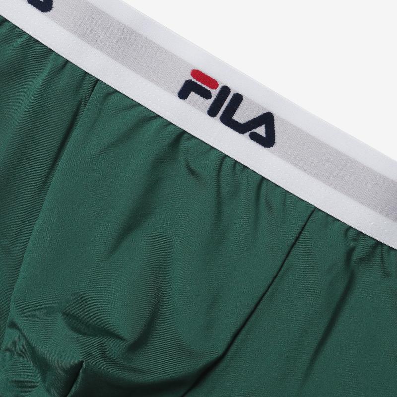 휠라언더웨어(FILA UNDERWEAR) [U]남성 드로즈 3종 SET 화이트밴드(FI4DRC6412MGRN)