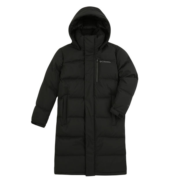 Bay Brush™ Long Down Jacket