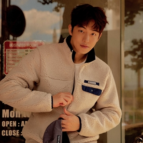 [남주혁 착용] Mountainside Heavy Fleece Jacket