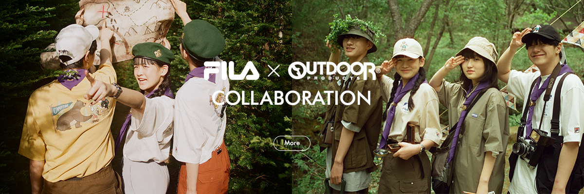 FILA X OUTDOOR PRODUCTS