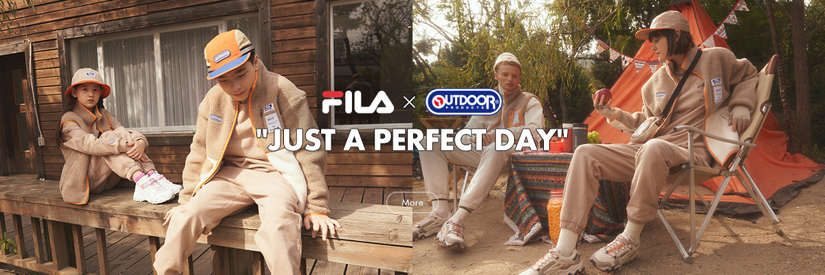 FILA X OUTDOOR PRODUCTS<br>