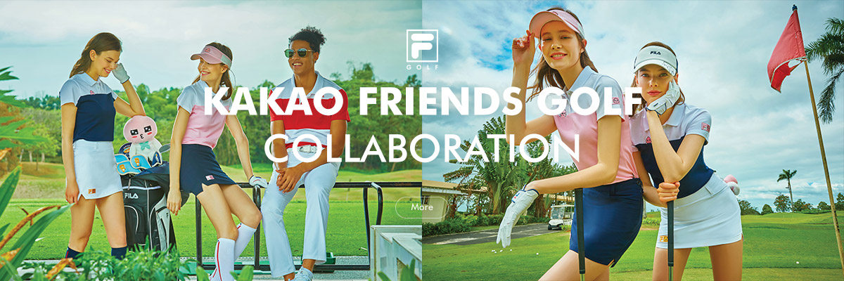 FILA GOLF X KAKAO FRIENDS GOLF<br>COLLABORATION