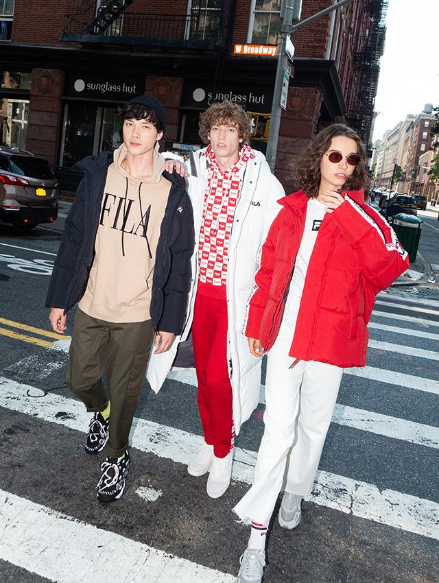 FILA ON THE NYC STREET<br>#2019 AW EPISODE