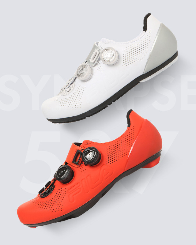 FILA CYCLE SHOES<br>SYNAPSE 5 & SYNAPSE 7