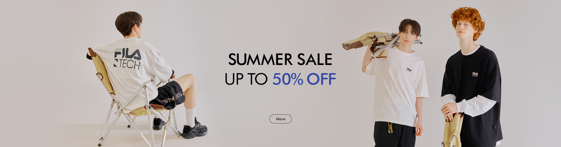 FILA SUMMER SALE<br> UP TO 50% OFF