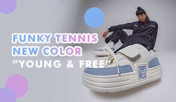 FUNKY TENNIS NEW COLOR