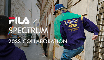 FILA X SPECTRUM 20SS COLLABORATION