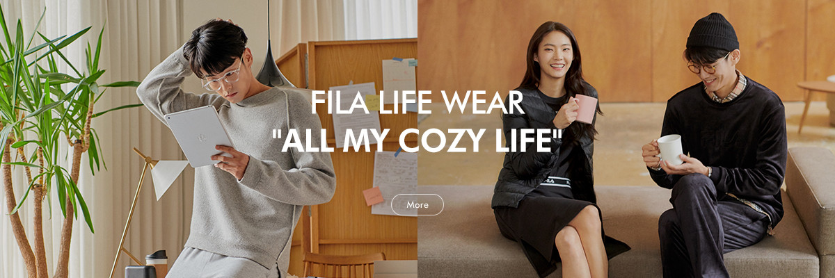 FILA LIFE WEAR ALL MY COZY LIFE