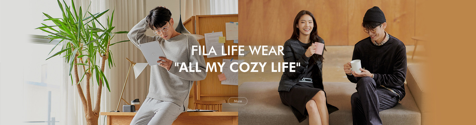 FILA LIFE WEAR ALL MY COZY LIFE mobile