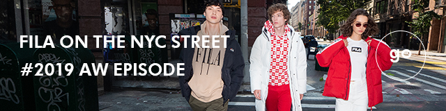 FILA ON THE NYC STREET  #2019 AW EPISODE