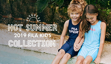 2019 FILA KIDS HOT SUMMER COLLECTION