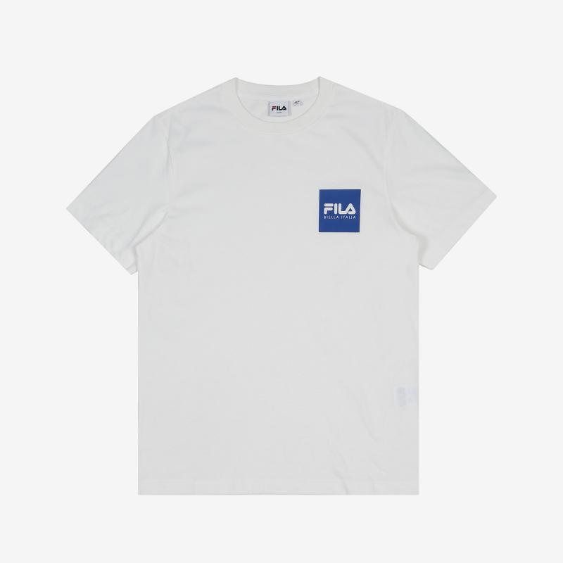 <레귤러핏> FILA BOX 로고 반팔 티셔츠 상세 이미지