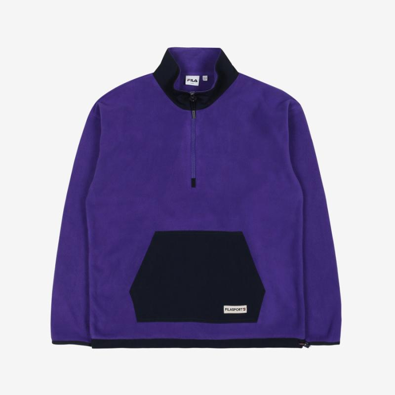 <온라인단독>FILA FLEECE HALF ZIPUP 상세 이미지