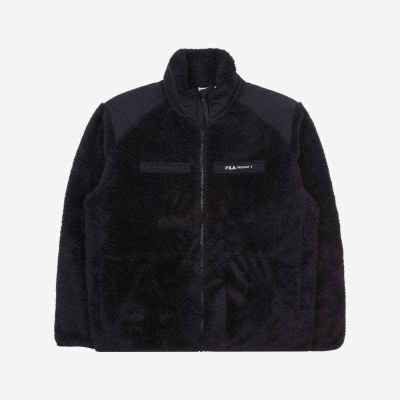 <Project 7> Woven Mix Fleece Jacket Detailed Image 2