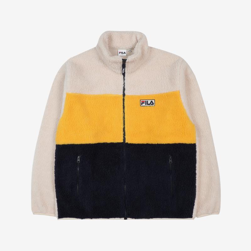 Palette Boa Fleece Jacket Detail Image 3