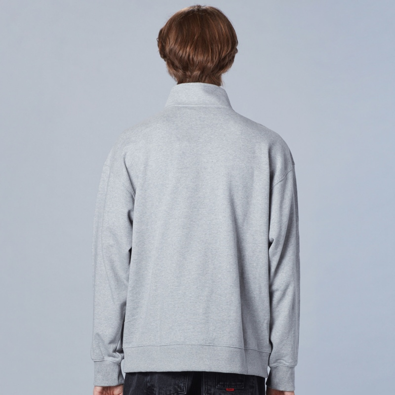 Neutro Neck Point Half Zip-Up Detailed Image 3