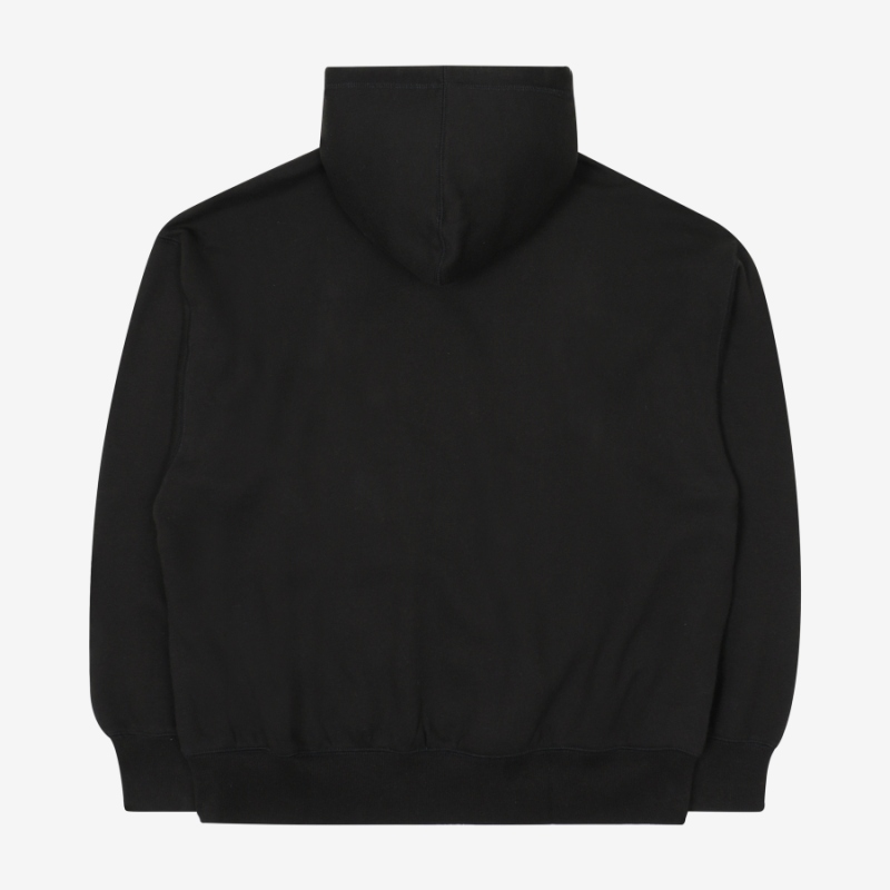 Overfit Small Linear Raised Hoodie Detailed Image 3