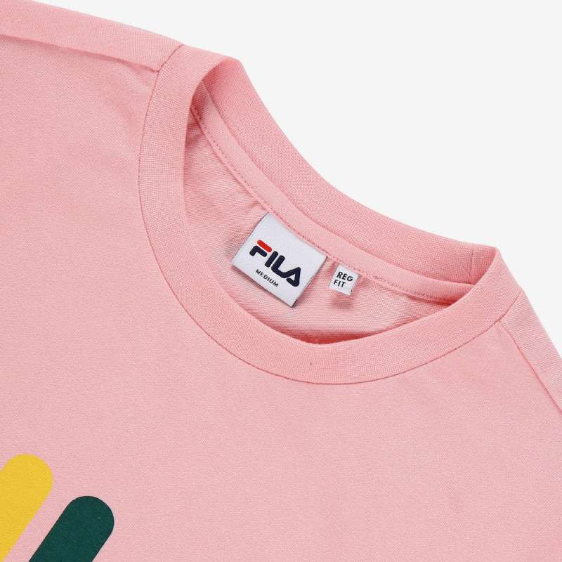 <온라인단독> MULTI-COLOR LOGO TEE 상세 이미지