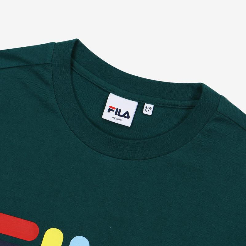 <온라인단독> MULTI-COLOR LOGO TEE 상세 이미지 4