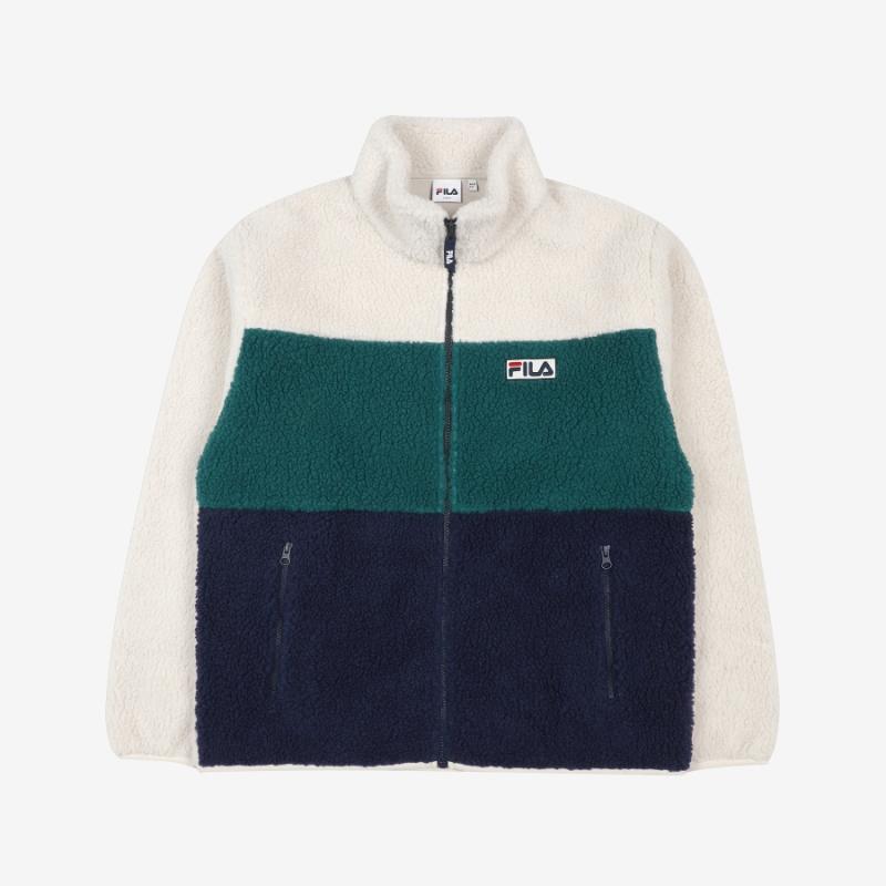 Palette Boa Fleece Jacket Detail Image 4