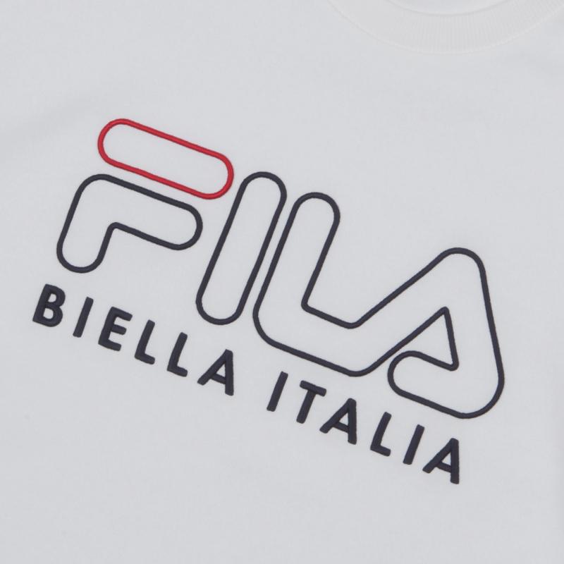 <레귤러핏> FILA 3D 로고 자수 맨투맨 상세 이미지
