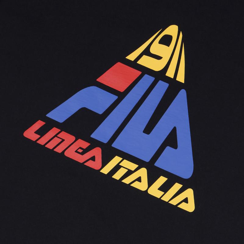 <레귤러핏> FILA LINEA ITALIA 삼각 로고 반팔티셔츠 상세 이미지