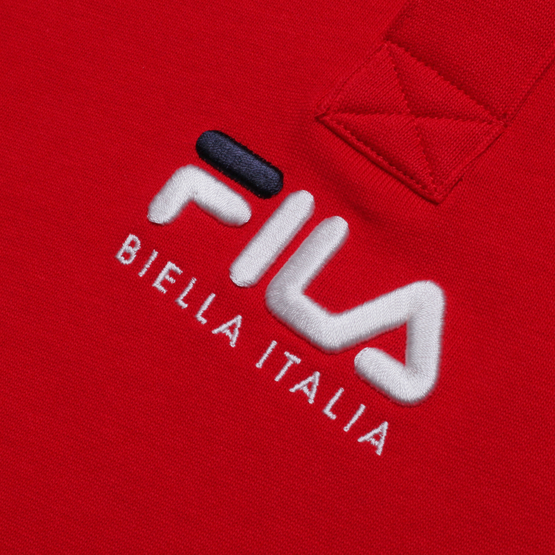 루즈핏 BIELLA ITALIA 로고 폴로 반팔티셔츠 상세 이미지