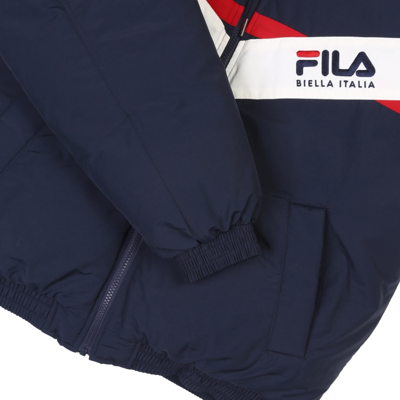 V color down jacket detailed image 5