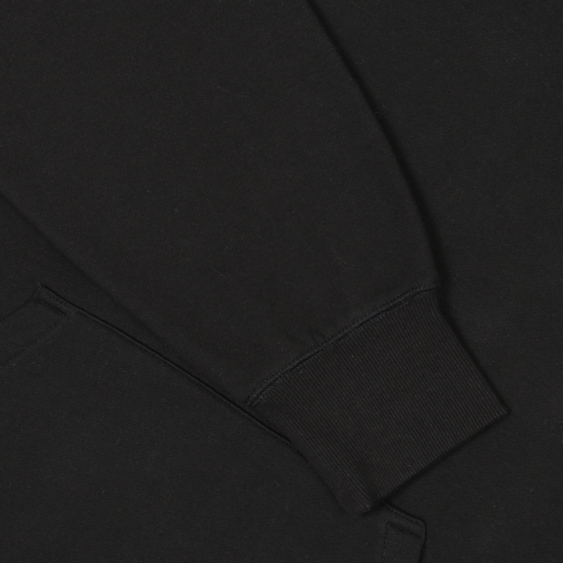 Overfit Small Linear Raised Hoodie Detailed Image 5