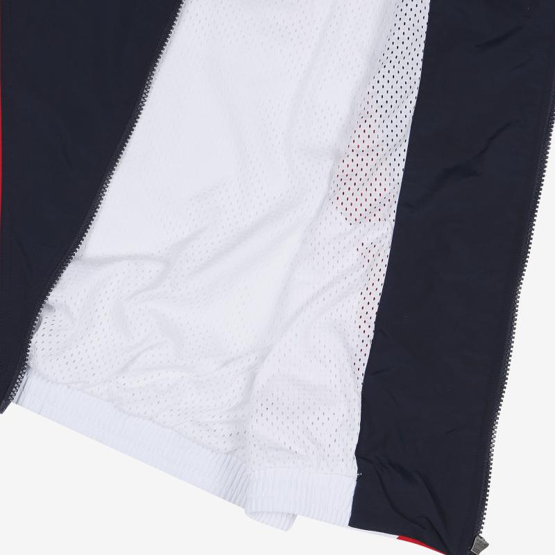 루즈핏 V 블로킹 바람막이 자켓 상세 이미지