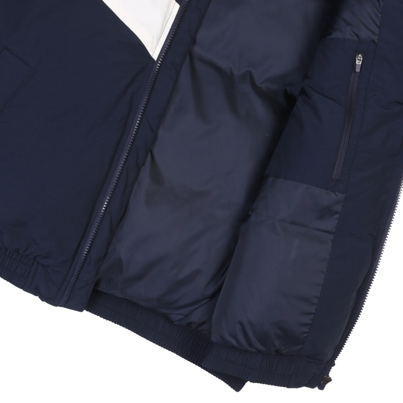 V color down jacket detailed image 6