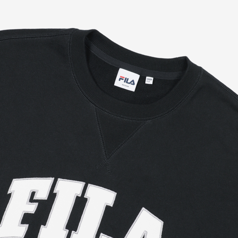 Newtro Varsity Man to Man Detailed Image 6