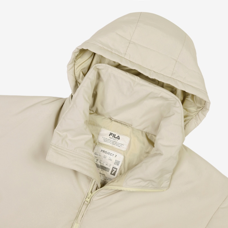 <Project 7> Short padded jacket detail image 7