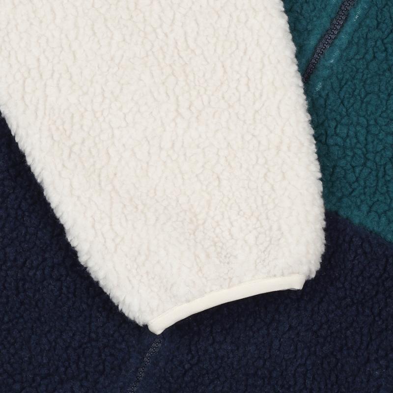 Palette boa fleece jacket detailed image 7