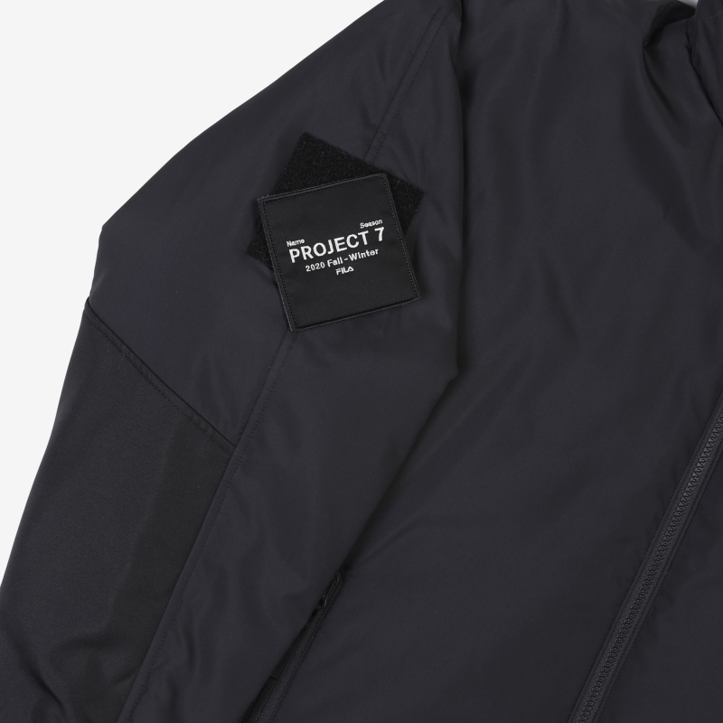 <Project 7> Short padded jacket detail image 8