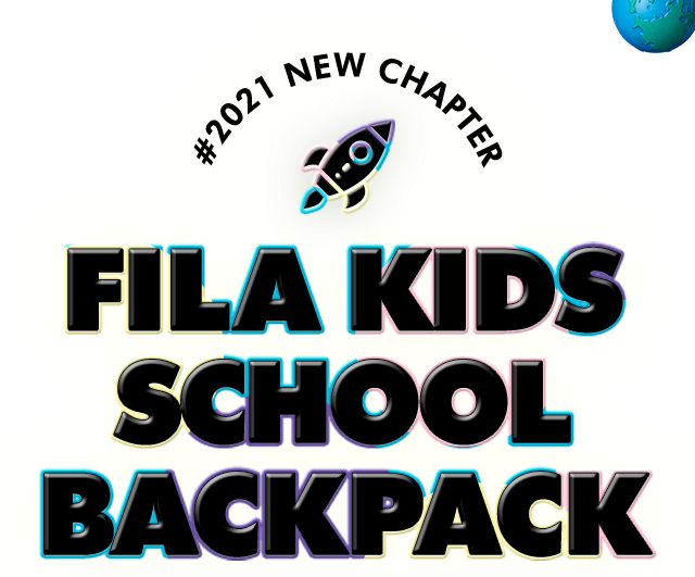 fila kids school backpack